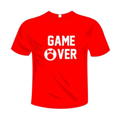 0003 Game Over Rood