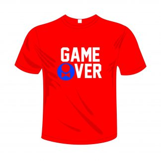 0004 Game Over M Rood